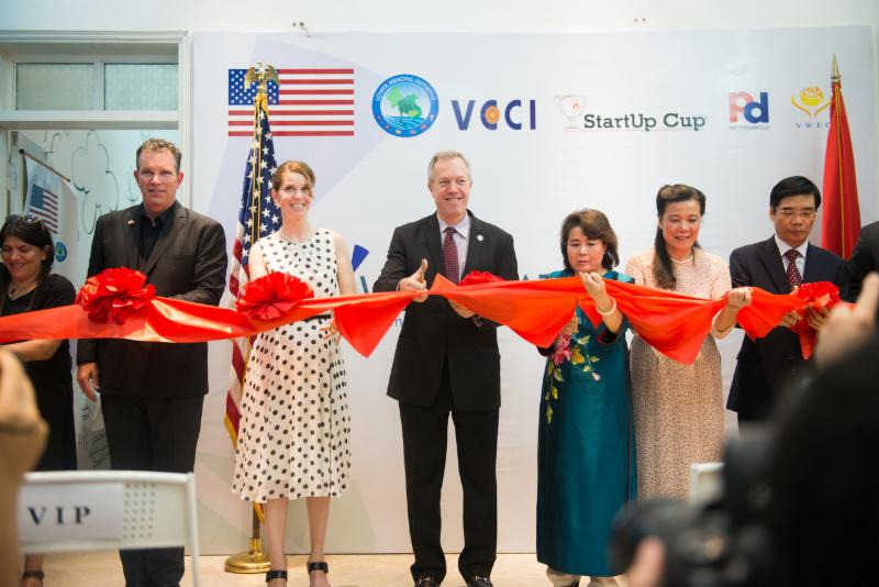WECREATE | VIETNAM Ribbon Cutting